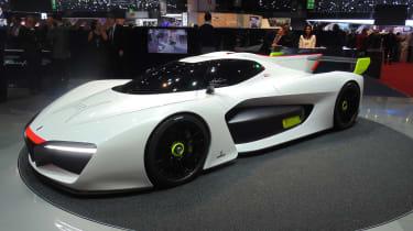 Pininfarina在日内瓦展会上用H2速度返回