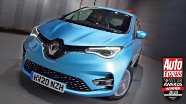 2020年的经济实惠的电动汽车:雷诺zoe.