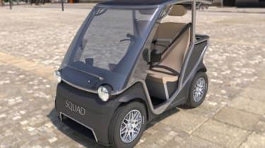 新的$ 5K太阳能队的太阳能城市汽车设计更新
