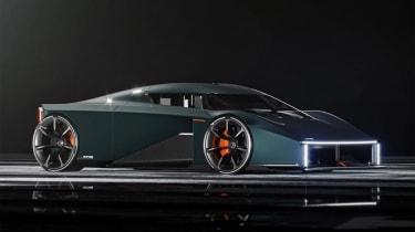 由Koenigsegg的RAW想象未来的紧凑高级