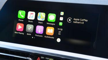 在新宝马上推出的Apple Carkey:司机可以将他们的iPhone用作钥匙