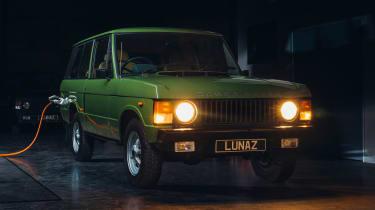 经典范围揽救放来自Lunaz的电动汽车转换