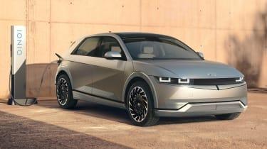 新的全电动Hyundai Ioniq 5到达Tesla