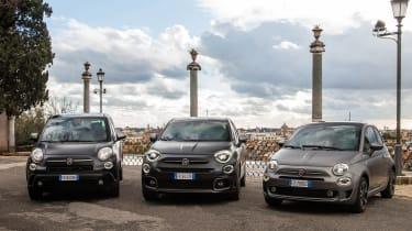 Fiat 500,500x和500L阵容更新为2021